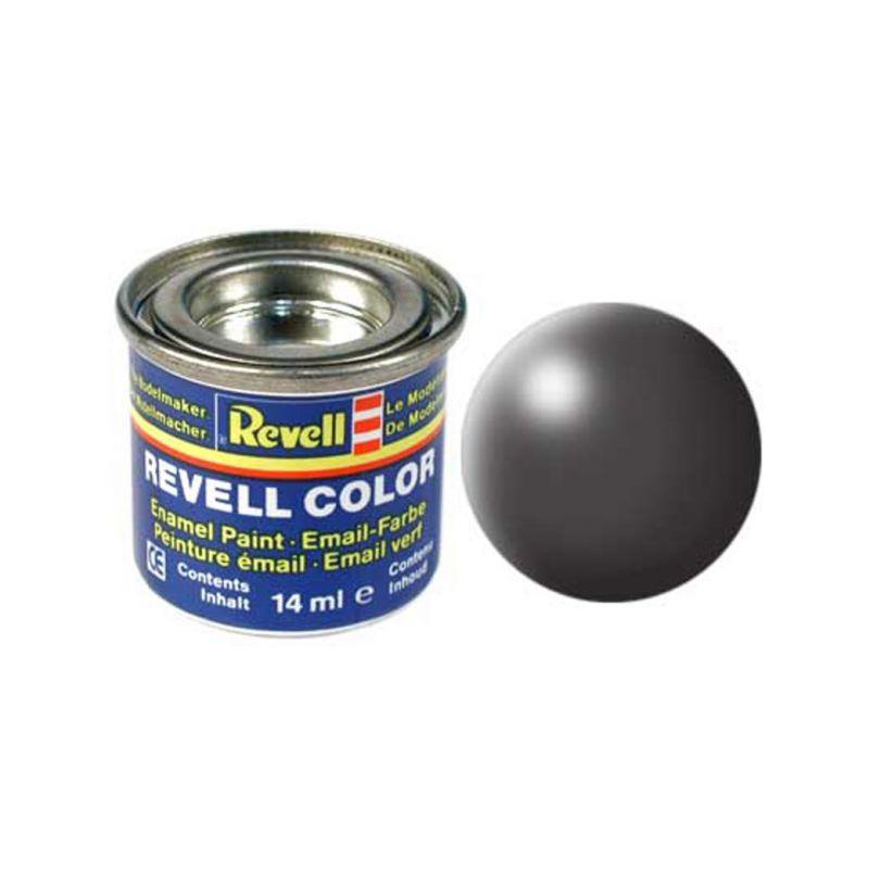 Revell emailová barva #378 tmavě šedá polomatná 14ml - 1