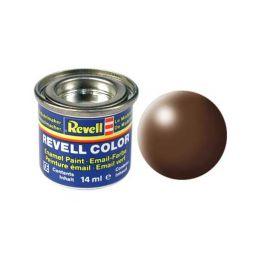 Revell emailová barva #381 hnědá polomatná 14ml - 1