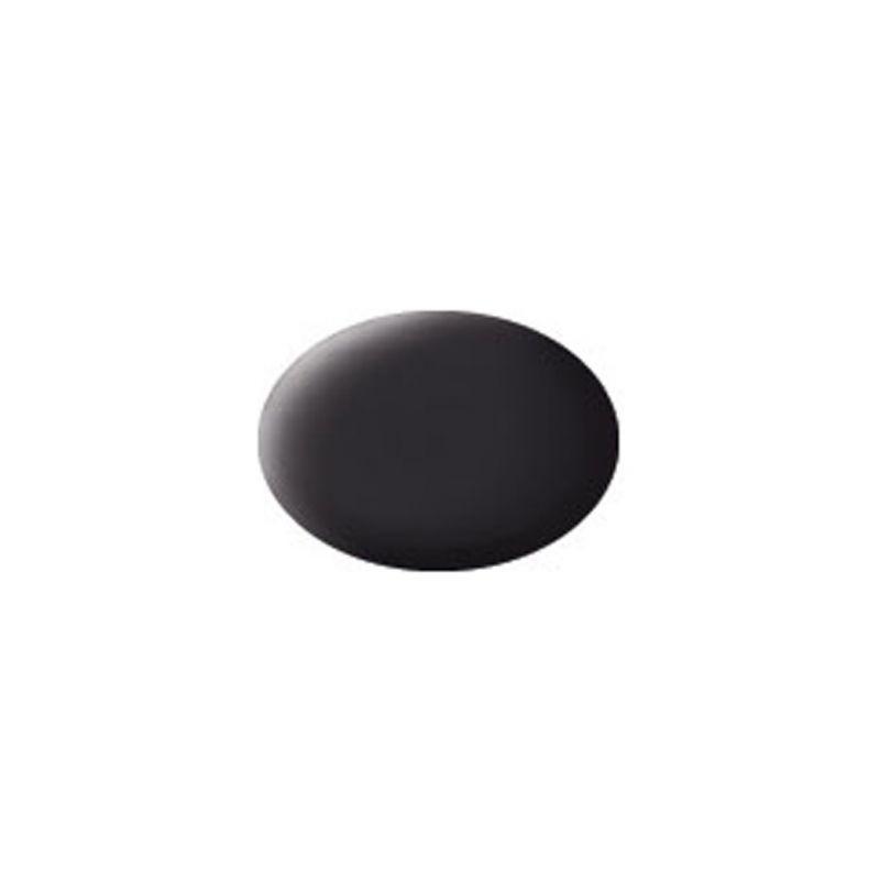Revell akrylová barva #6 dehtově černá matná 18ml - 1
