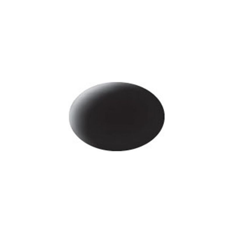 Revell akrylová barva #8 černá matná 18ml - 1