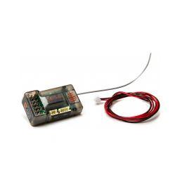 Spektrum přijímač SR6100AT DSMR 6CH AVC s telemetrií - 1