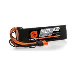 Spektrum Smart LiPo 11.1V 2200mAh 50C IC3 - 1