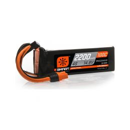 Spektrum Smart LiPo 14.8V 2200mAh 100C IC3 - 1