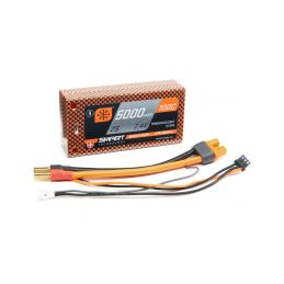 Spektrum Smart LiPo 7.4V 5000mAh 100C Short HC - 1