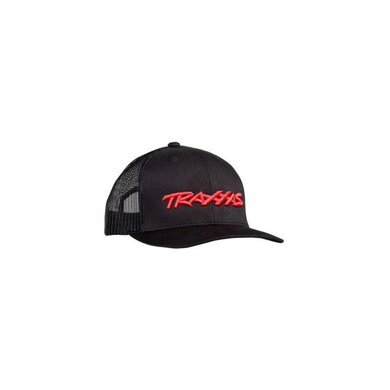 Traxxas kšiltovka černo-červená - 1