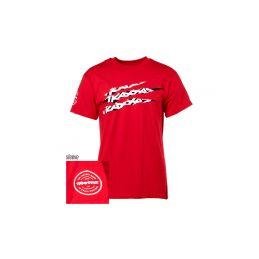 Traxxas tričko SLASH červené S - 1
