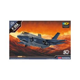 Academy Lockheed F-35A Seven Nation Air Force MCP (1:72) - 1