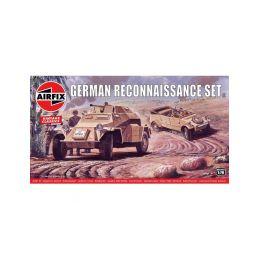 Airfix German Reconnaisance Set (1:76) (Vintage) - 1