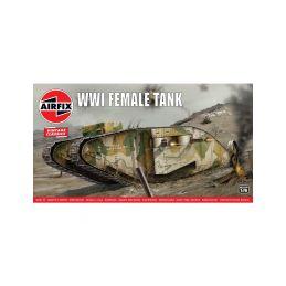 Airfix WWI Female Tank (1:76) (Vintage) - 1