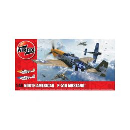 Airfix North American P-51D Mustang Filletless Tails (1:48) - 1