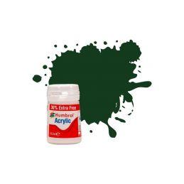 Humbrol akrylová barva #3 Brunswick zelená lesklá 18ml - 1