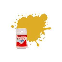 Humbrol akrylová barva #16 zlatá metalická 18ml - 1