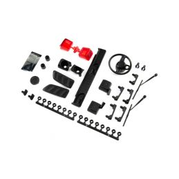 Axial maketové díly karosérie Jeep JLU: SCX10III - 1