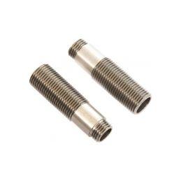 Axial tělo tlumiče se závitem 11x38mm hliník (2): SCX10III - 1