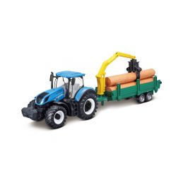 Bburago New Holland T7.315 se dřevem - 1