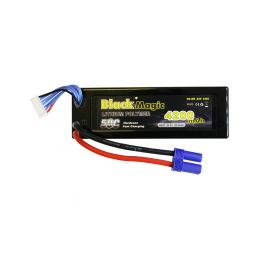 Black Magic LiPol Car 22.2V 4200mAh 50C EC5 - 1