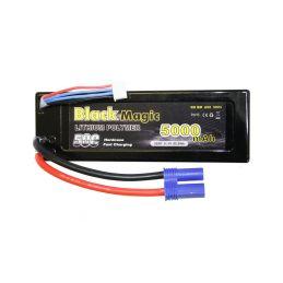 Black Magic LiPol Car 11.1V 5000mAh 50C EC5 - 1