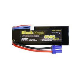 Black Magic LiPol Car 14.8V 5000mAh 50C EC5 - 1