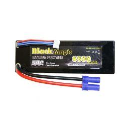 Black Magic LiPol Car 11.1V 6500mAh 50C EC5 - 1