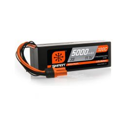 Spektrum Smart LiPo 11.1V 5000mAh 100C HC IC3 - 1