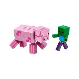 LEGO Minecraft - Prase s malou zombie - 1