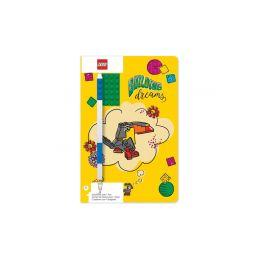 LEGO zápisník A5 s modrým perem Building Dreams - 1