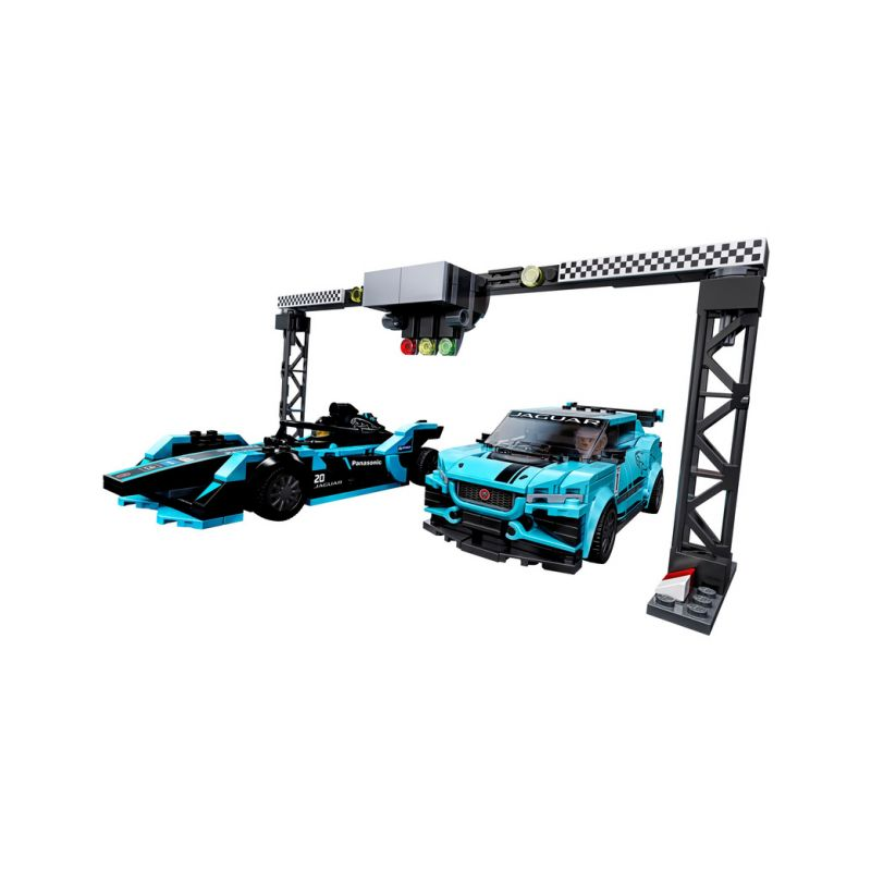 LEGO Speed Champions - Formula E Panasonic Jaguar Racing GEN2 car & Jaguar I-PACE eTROPHY - 1