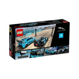 LEGO Speed Champions - Formula E Panasonic Jaguar Racing GEN2 car & Jaguar I-PACE eTROPHY - 5