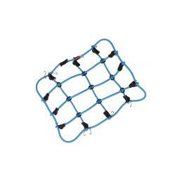 Robitronic poutací síť z háčky 15x12cm modrá - 1