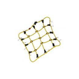 Robitronic poutací síť z háčky 15x12cm žlutá - 1