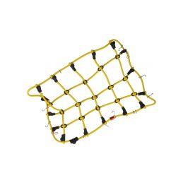 Robitronic poutací síť s háčky 19x12cm žlutá - 1
