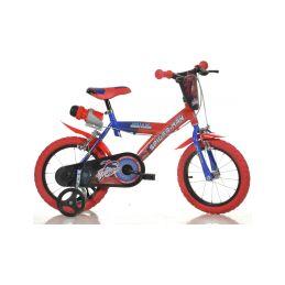 "DINO Bikes - Dětské kolo 14"" Spiderman - 1"