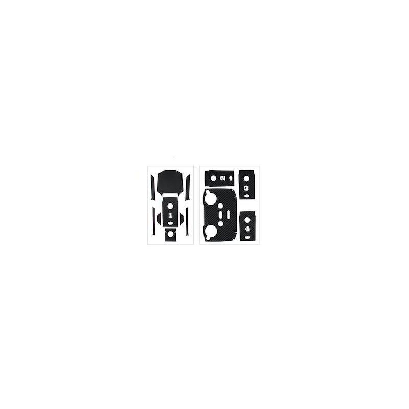 MAVIC AIR 2 - Sada nálepek (uhlíkový design) (Black) - 1