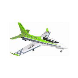 Viper Jet 1450mm EPP - zelený ARF set - 1