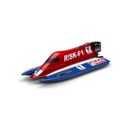 RISK F-1 stavebnice rychlostního člunu - 1