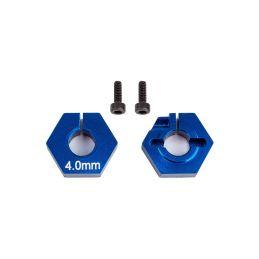 B6.2 4mm hliníkový unašeč kol, 2 ks. - 1