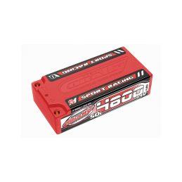 Sport Racing 50C LiPo Shorty Hardcase-4800mAh-7.4V-4mm Bullit (35,5Wh) - 1