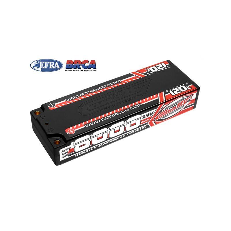 VOLTAX 120C LiPo Stick Hardcase-8000mAh-7.4V-G4 (59,2Wh) - 1