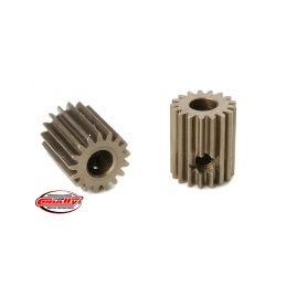 Ocelový tvrzený pastorek 17 zubů (modul 64DP) - 1