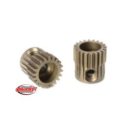 Ocelový tvrzený pastorek 20 zubů (modul 64DP) - 1