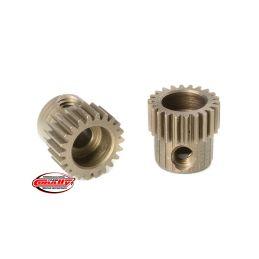 Ocelový tvrzený pastorek 22 zubů (modul 64DP) - 1