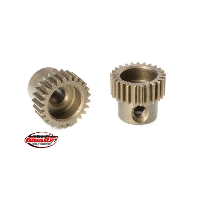 Ocelový tvrzený pastorek 25 zubů (modul 64DP) - 1