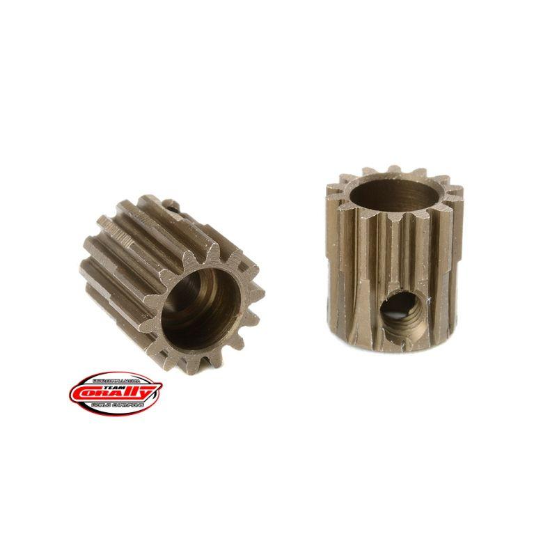 Ocelový tvrzený pastorek 14 zubů (modul 48DP) - 1