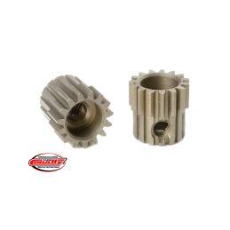 Ocelový tvrzený pastorek 15 zubů (modul 48DP) - 1