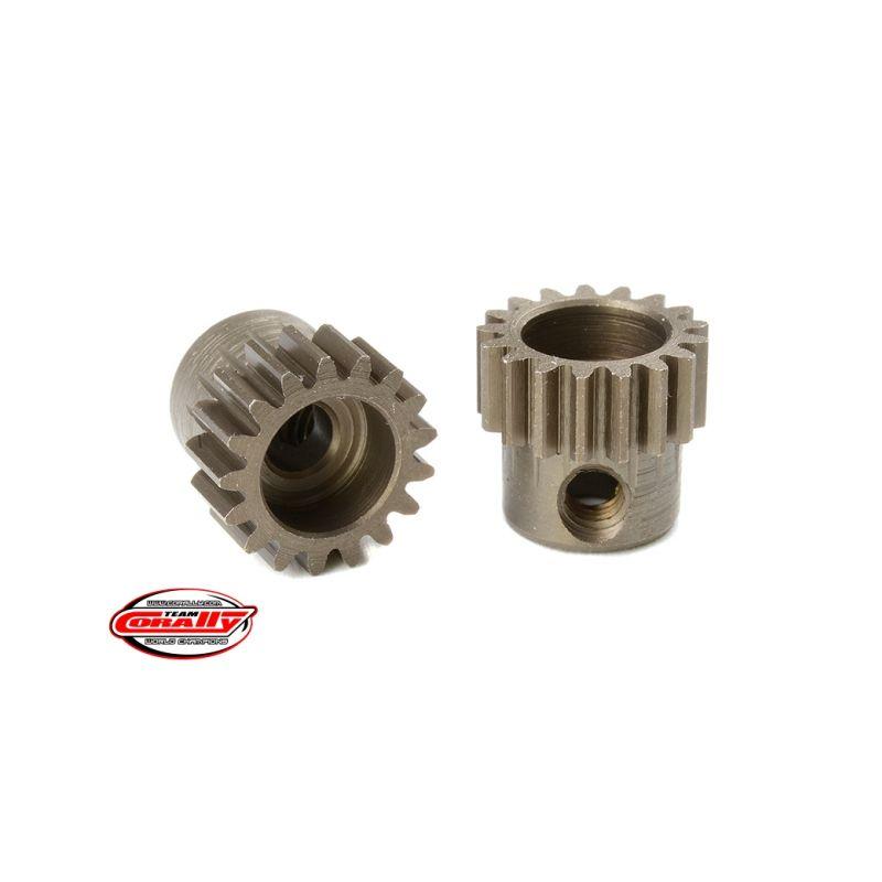 Ocelový tvrzený pastorek 17 zubů (modul 48DP) - 1