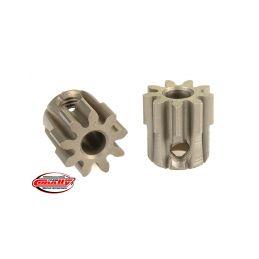 Ocelový tvrzený pastorek 9 zubů (modul 32DP) - 1