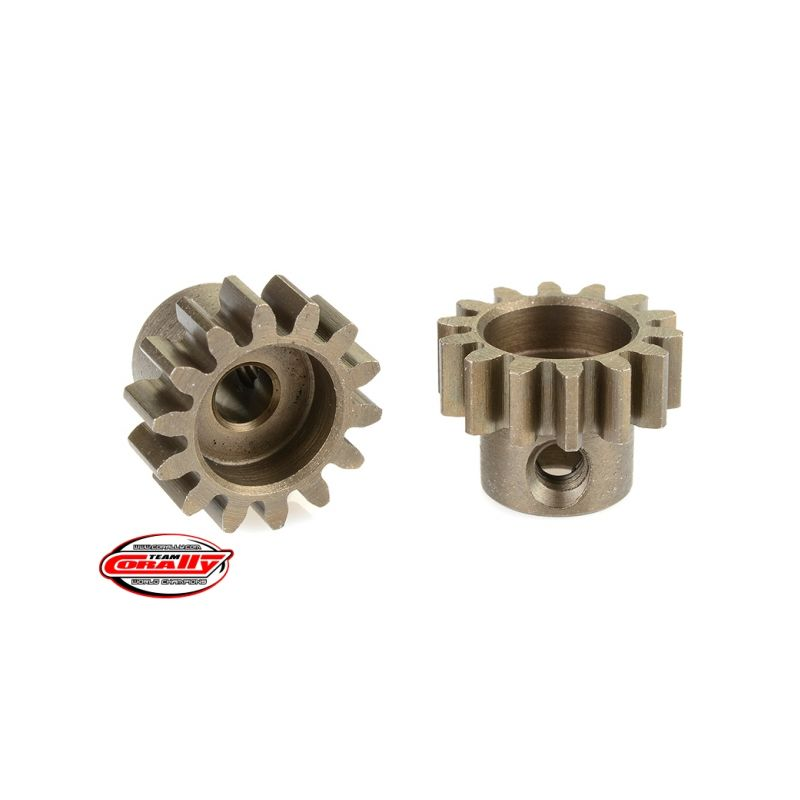 Ocelový tvrzený pastorek 14 zubů (modul 32DP) - 1