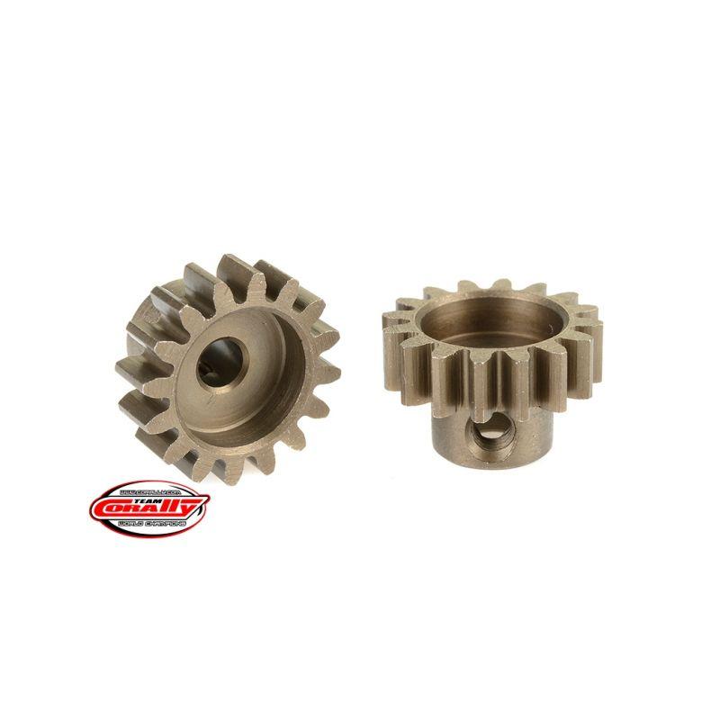 Ocelový tvrzený pastorek 16 zubů (modul 32DP) - 1