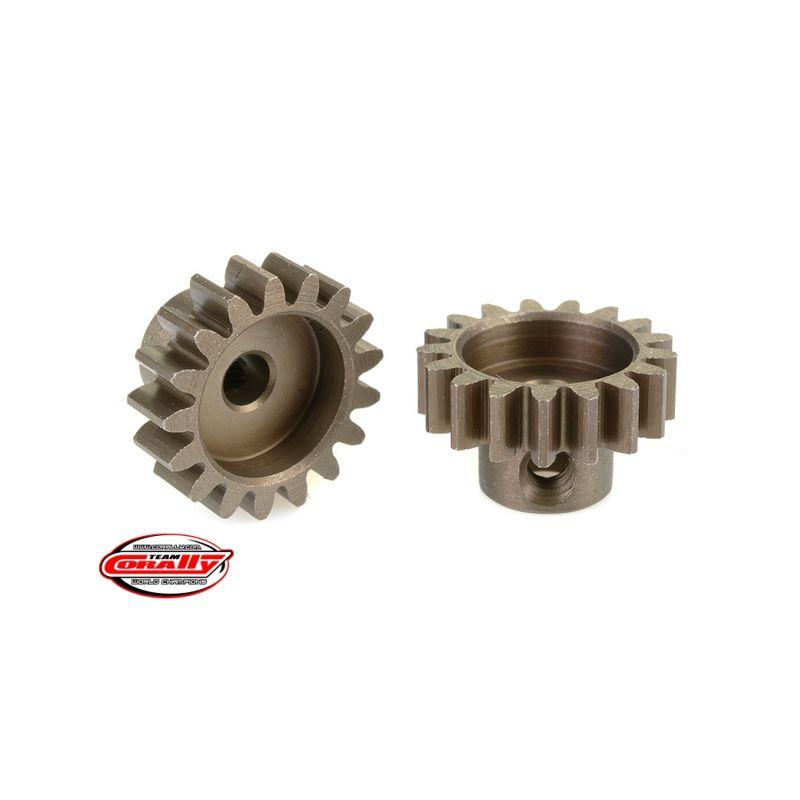 Ocelový tvrzený pastorek 17 zubů (modul 32DP) - 1