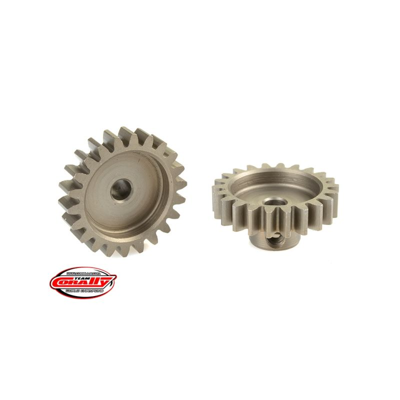 Ocelový tvrzený pastorek 22 zubů (modul 32DP) - 1
